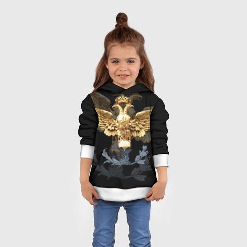Детская толстовка 3D Золотой орел