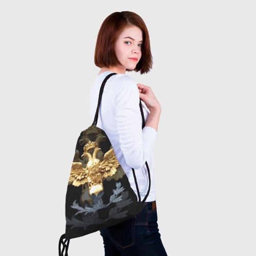 Рюкзак-мешок 3D  Фото 02, Золотой орел