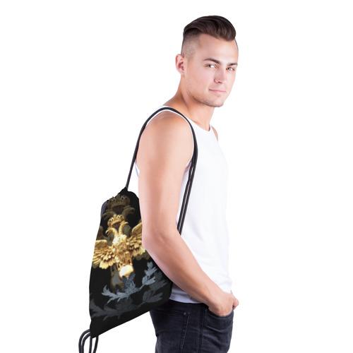 Рюкзак-мешок 3D  Фото 03, Золотой орел