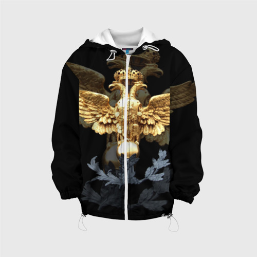 Детская куртка 3D  Фото 01, Золотой орел