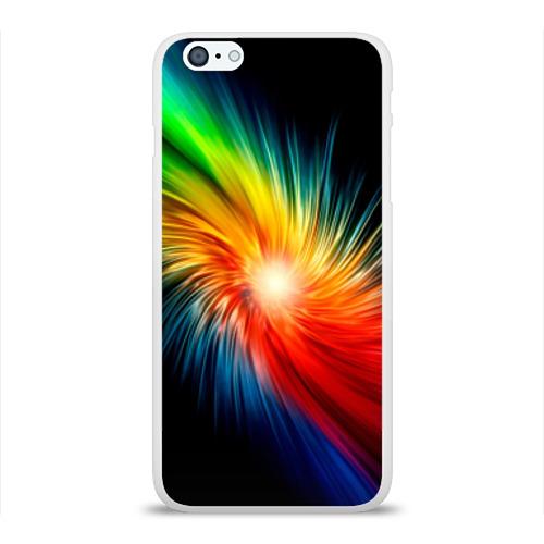 Чехол для Apple iPhone 6Plus/6SPlus силиконовый глянцевый  Фото 01, Звезда радуга