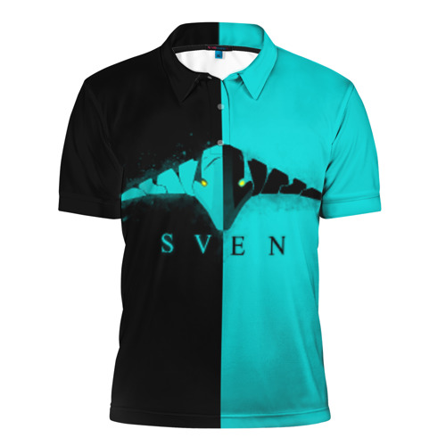 Мужская рубашка поло 3D  Фото 01, DOTA-2 SVEN