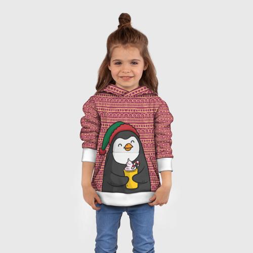 Детская толстовка 3D  Фото 01, Пингвиня