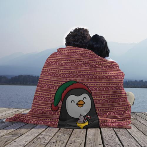 Плед 3D Пингвиня Фото 01