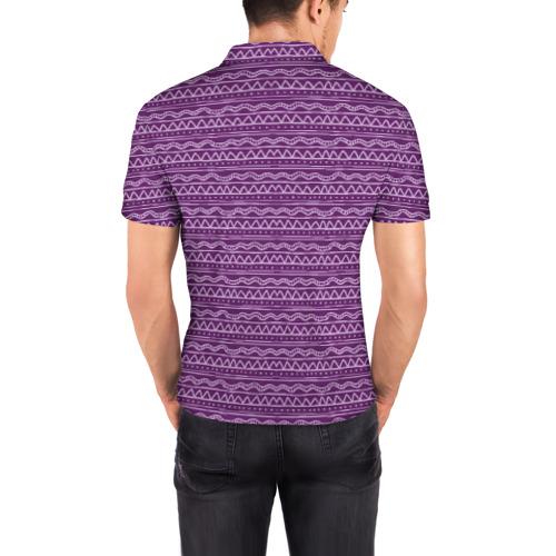 Мужская рубашка поло 3D  Фото 04, Счастливый олень