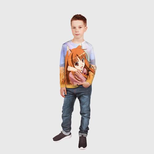 Детский лонгслив 3D  Фото 05, Волчица и Пряности 2