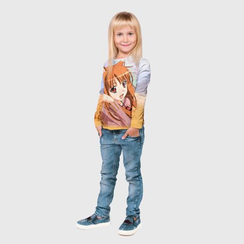 Детский лонгслив 3D  Фото 04, Волчица и Пряности 2