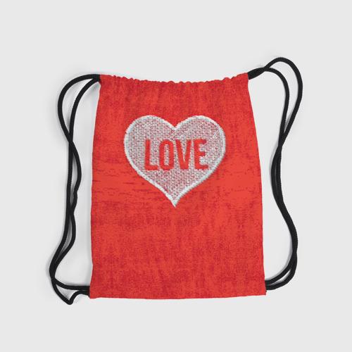 Рюкзак-мешок 3D  Фото 03, Love