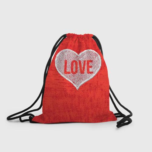 Рюкзак-мешок 3D  Фото 01, Love
