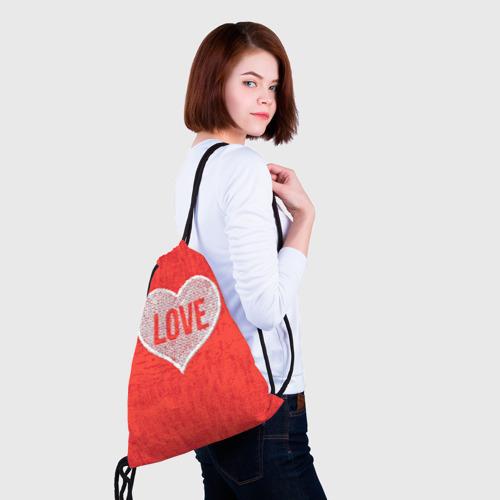 Рюкзак-мешок 3D  Фото 02, Love