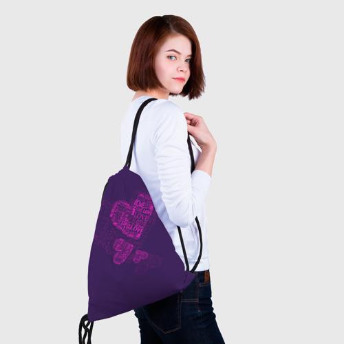 Рюкзак-мешок 3D  Фото 02, Облака любви