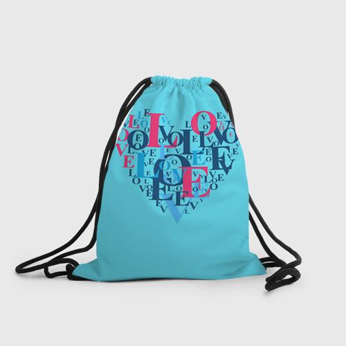 Рюкзак-мешок 3D  Фото 01, Любовь