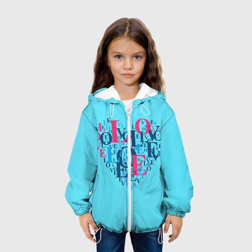 Детская куртка 3D  Фото 03, Любовь