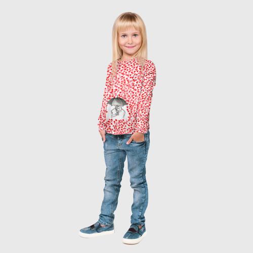 Детский лонгслив 3D  Фото 04, Валентинов дождик