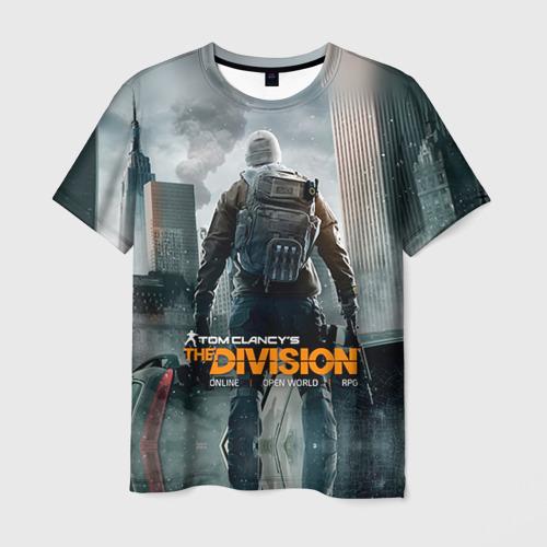 Мужская футболка 3D  Фото 03, Division