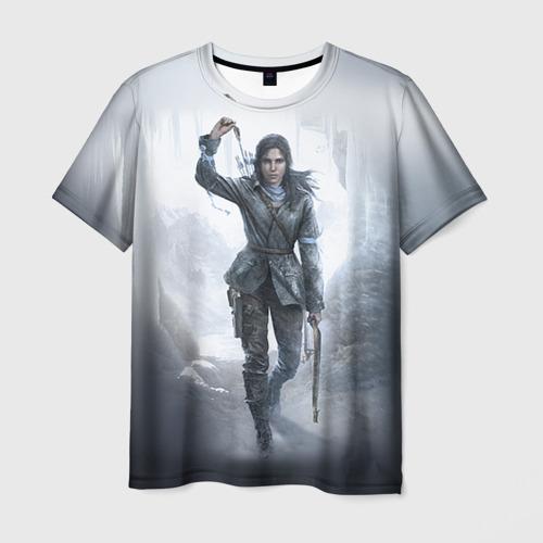 Мужская футболка 3D  Фото 03, Rise of the Tomb Raider