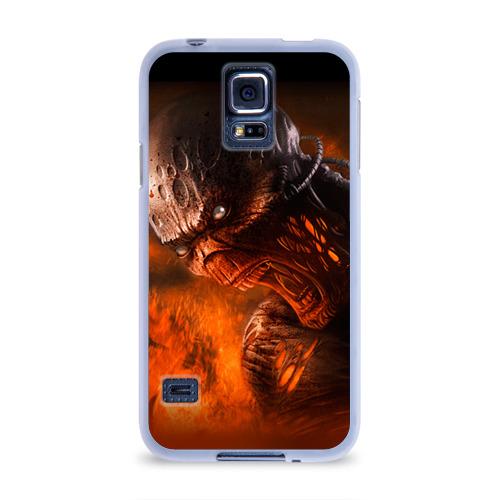 Чехол для Samsung Galaxy S5 силиконовый  Фото 01, Doom imp