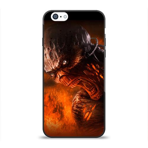 Чехол для Apple iPhone 6 силиконовый глянцевый Doom imp от Всемайки