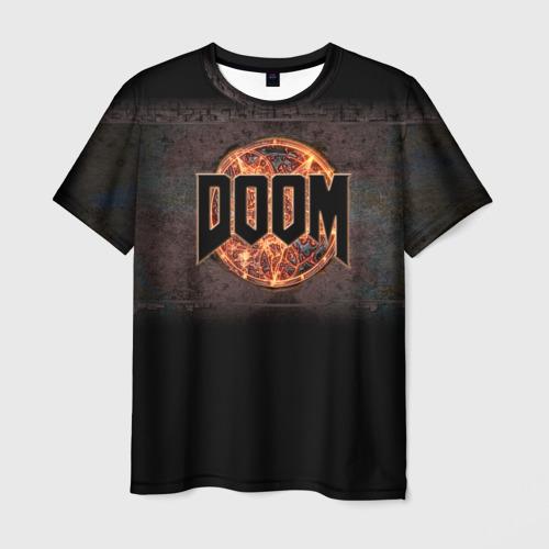 Мужская футболка 3D  Фото 03, Doom
