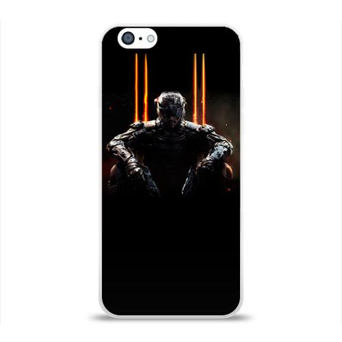 Чехол для Apple iPhone 6 силиконовый глянцевый  Фото 01, Call of duty