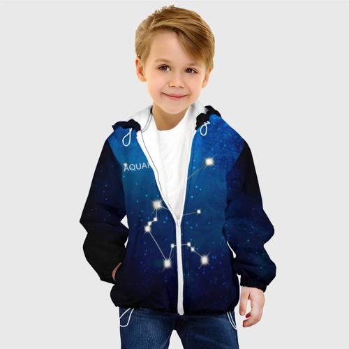 Детская куртка 3D  Фото 03, Водолей