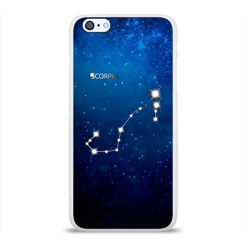 Чехол для Apple iPhone 6Plus/6SPlus силиконовый глянцевый  Фото 01, Скорпион