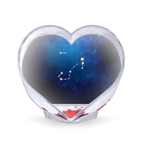 Сувенир Сердце Скорпион от Всемайки