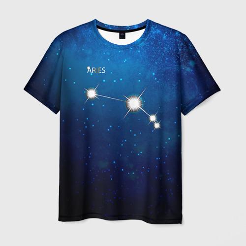 Мужская футболка 3D  Фото 03, Овен