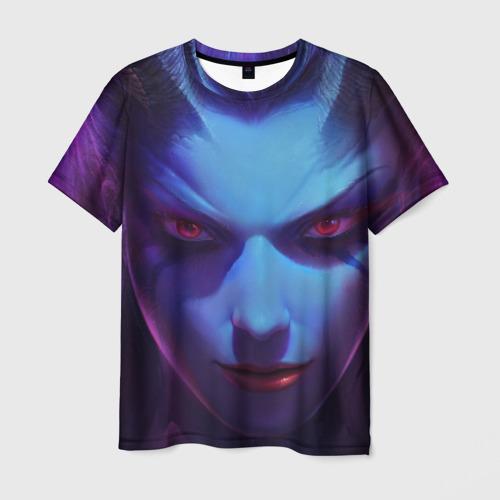 Мужская футболка 3D  Фото 03, Queen of pain