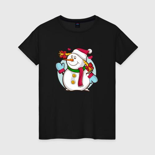 С Новым годом снеговик