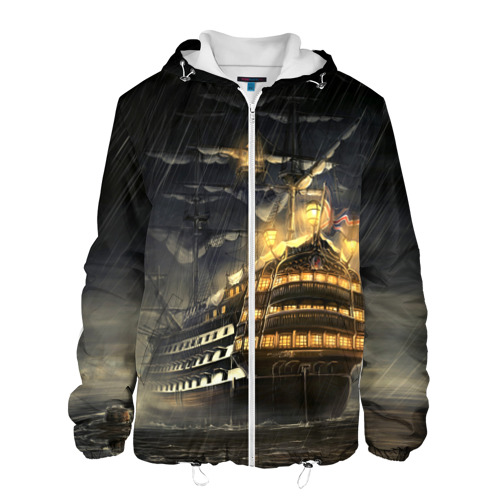 Мужская куртка 3D  Фото 01, Парусник