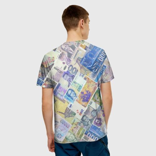 Мужская футболка 3D  Фото 02, Денньги мира