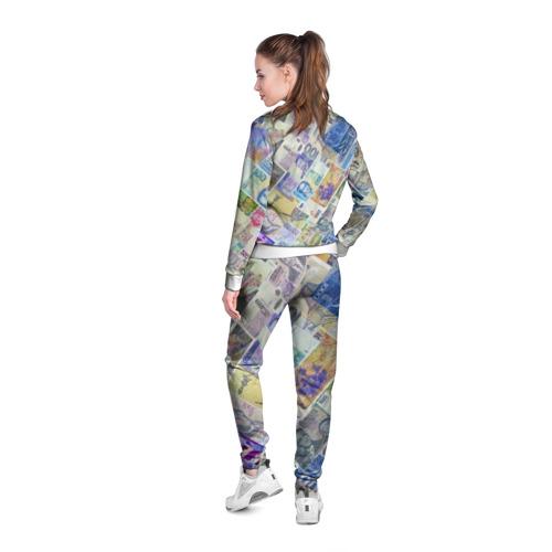 Женская олимпийка 3D  Фото 04, Денньги мира