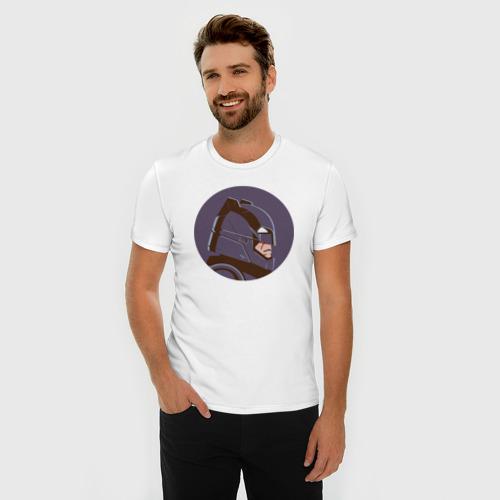Мужская футболка премиум  Фото 03, Knight's Headgear