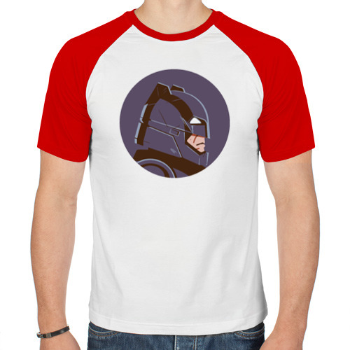Мужская футболка реглан  Фото 01, Knight's Headgear