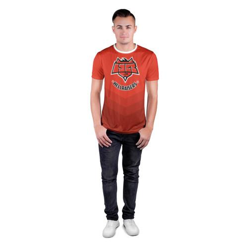 Мужская футболка 3D спортивная  Фото 04, HellRaisers