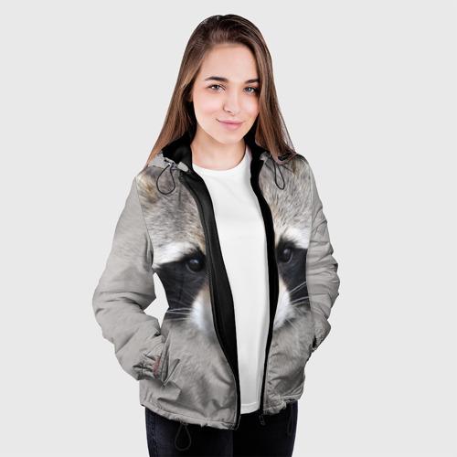 Женская куртка 3D Енот Фото 01