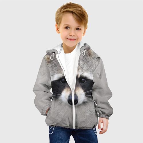 Детская куртка 3D Енот Фото 01