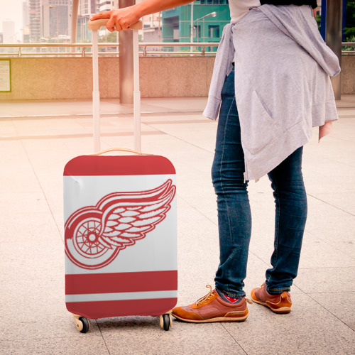 Чехол для чемодана 3D  Фото 04, Detroit Red Wings