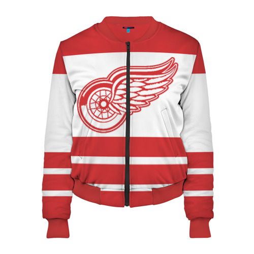 Женский бомбер 3D Detroit Red Wings