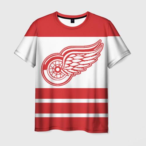 Мужская футболка 3D Detroit Red Wings