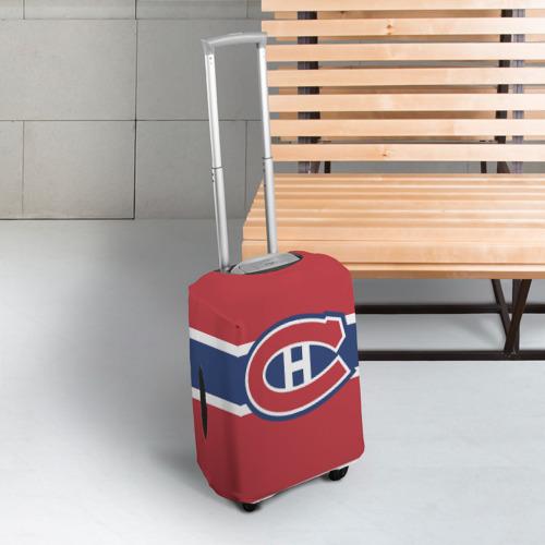 Чехол для чемодана 3D  Фото 03, Montreal Canadiens
