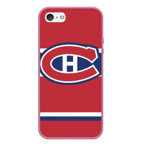 Чехол для iPhone 5/5S матовый Montreal Canadiens Фото 01