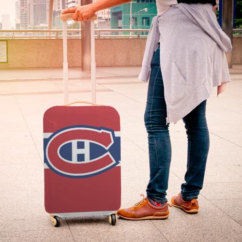 Чехол для чемодана 3D  Фото 04, Montreal Canadiens