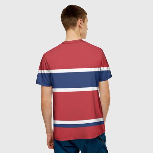 Мужская футболка 3D Montreal Canadiens