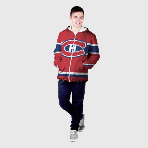 Мужская куртка 3D  Фото 03, Montreal Canadiens