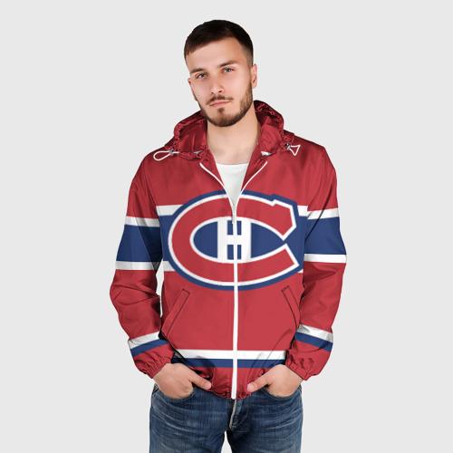 Мужская ветровка 3D Montreal Canadiens Фото 01