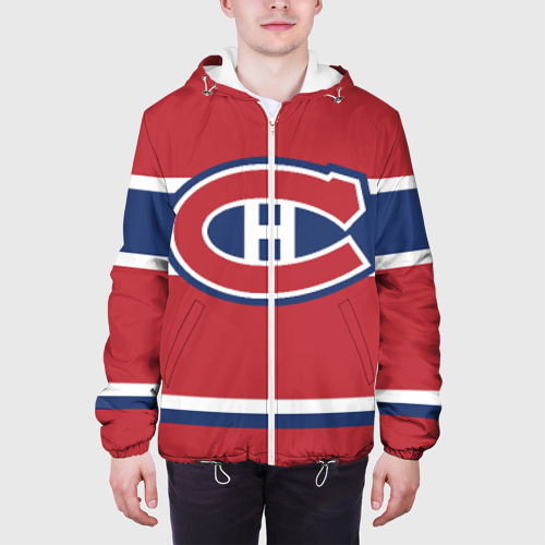 Мужская куртка 3D  Фото 04, Montreal Canadiens