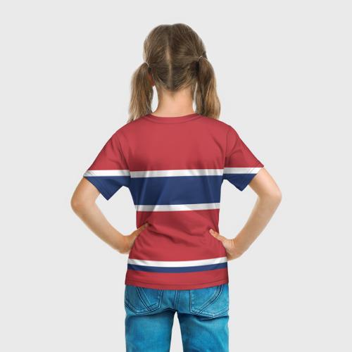 Детская футболка 3D  Фото 04, Montreal Canadiens