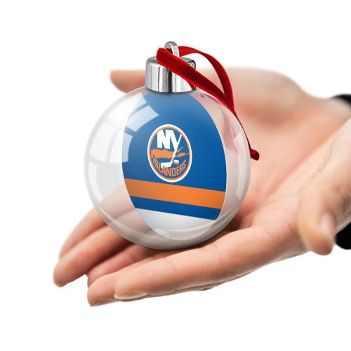 Ёлочный шар  Фото 02, New York Islanders